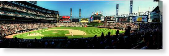 Chicago White Sox Canvas Print - Home Of The Chicago White Sox by Pixabay