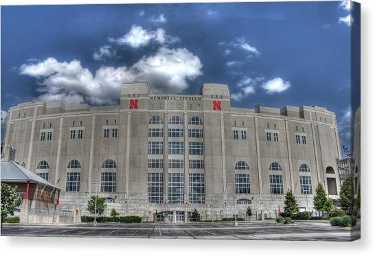 Home Of The Huskers  Canvas Print