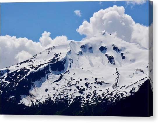 Home Of The North Wind - Skagway Canvas Print
