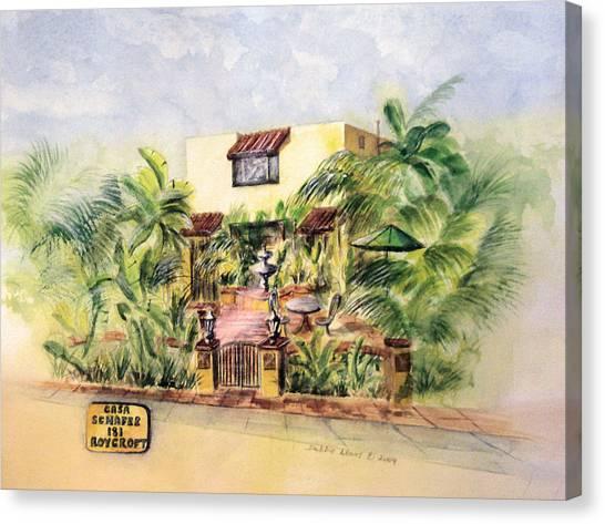 Home On Belmont Shore Canvas Print