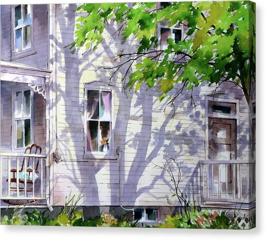 Home Shadows Canvas Print by Art Scholz