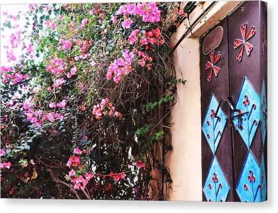 Home Canvas Print by Sunaina Serna Ahluwalia