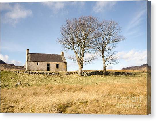 Scotland Canvas Print - Home Sweet Home by Smart Aviation