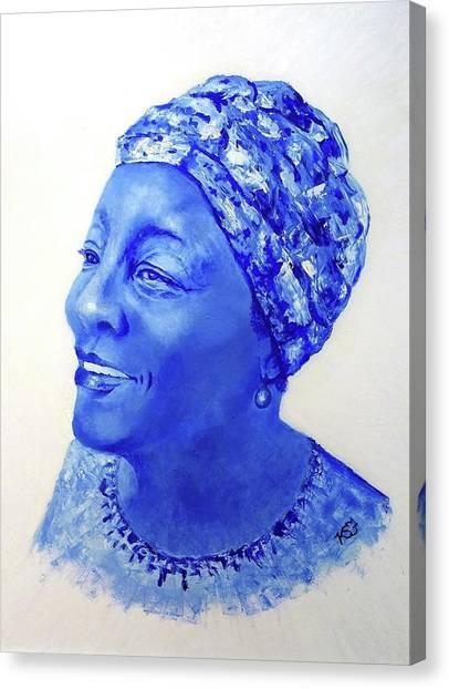 home To Zimbabwe Canvas Print