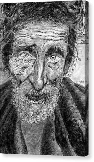 Homeless Mr. Craig Canvas Print