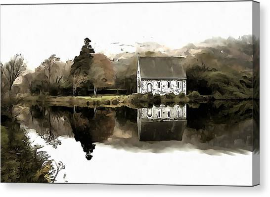 Homely House Canvas Print