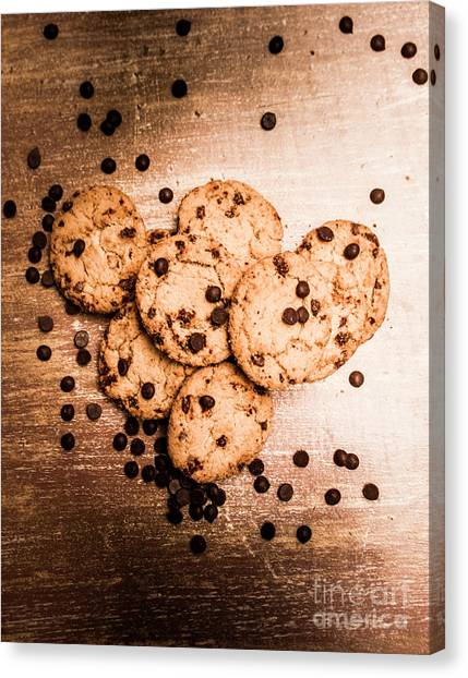 Biscuits Canvas Print - Homemade Biscuits by Jorgo Photography - Wall Art Gallery