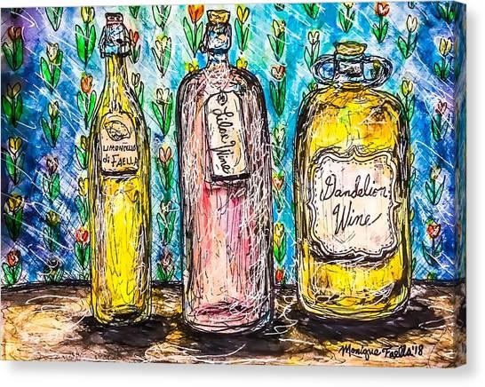 Homemade Wine Canvas Print