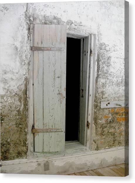 Homeplace Doorway Canvas Print
