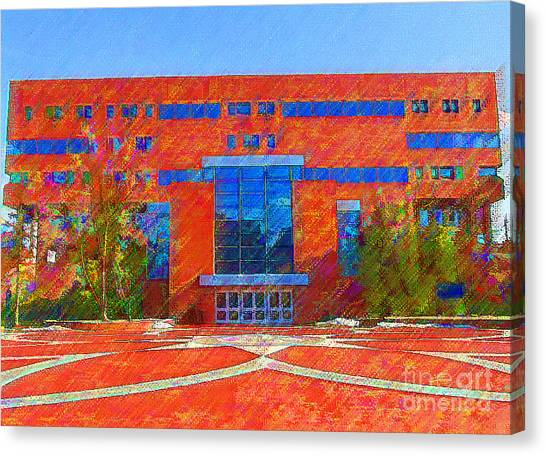 Homer Library Canvas Print