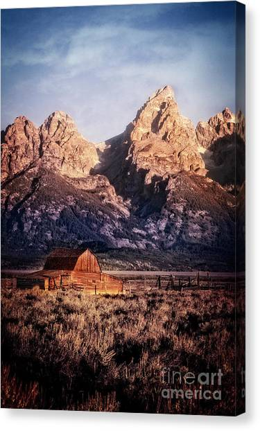 Canvas Print featuring the photograph Homesteader by Scott Kemper