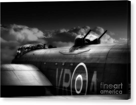 Bombers Canvas Print - Homeward Bound by Smart Aviation