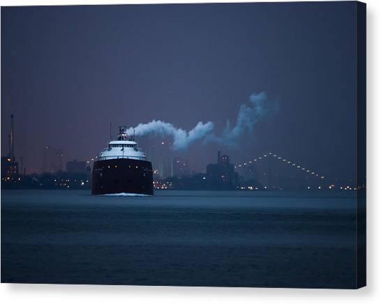 Freight Canvas Print - Hon. James L. Oberstar by Cale Best