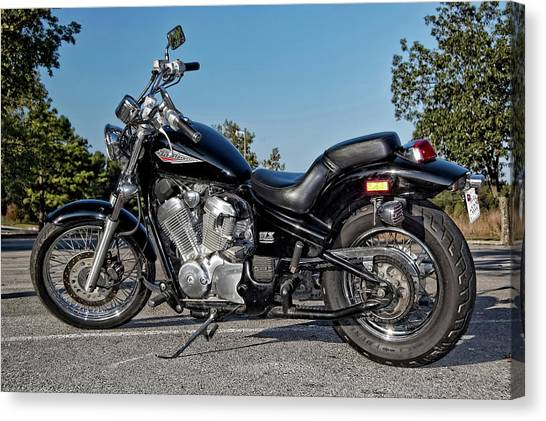 Honda Shadow Canvas Print