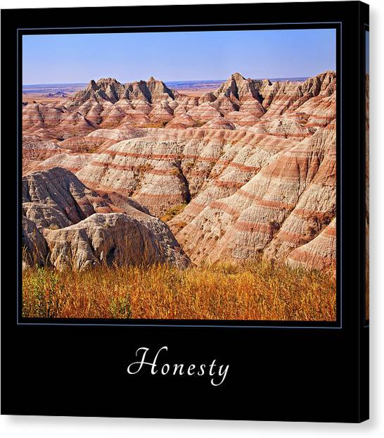 Honesty 1 Canvas Print