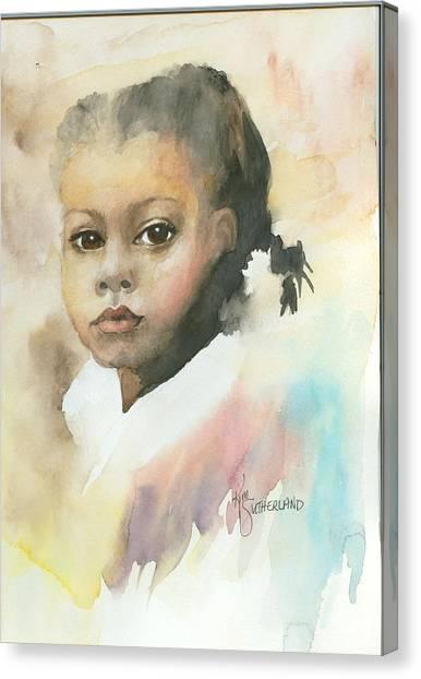 Honey Child Canvas Print