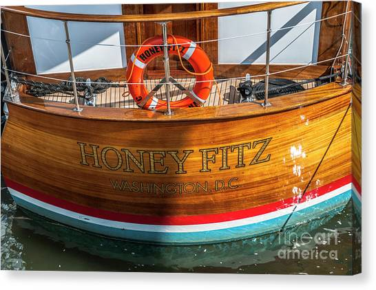 Honey Fitz Canvas Print