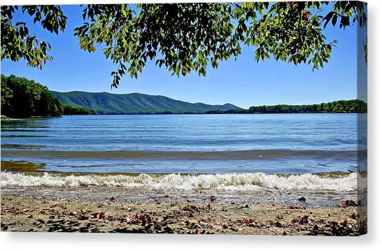 Honey Suckel Cove, Smith Mountain Lake Canvas Print
