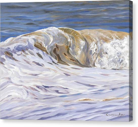 Honey Wave Canvas Print