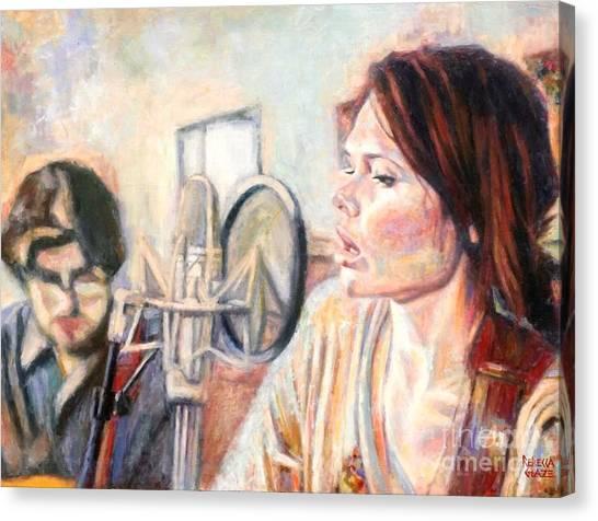 Honeyhoney Band Canvas Print
