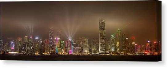 Hong Kong Canvas Print - Hong Kong Island by Daniel Murphy