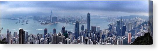 Hong Kong Canvas Print - Hong Kong by Lorelle Phoenix