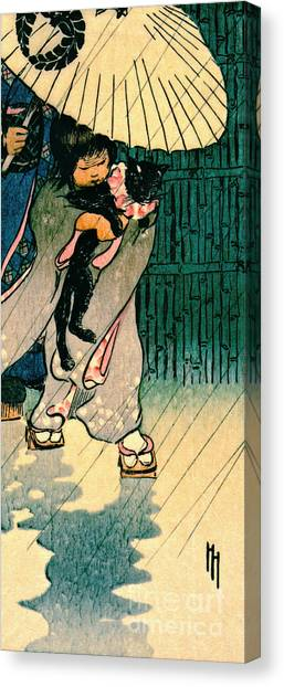 Honorable Mr. Cat 1903 Canvas Print