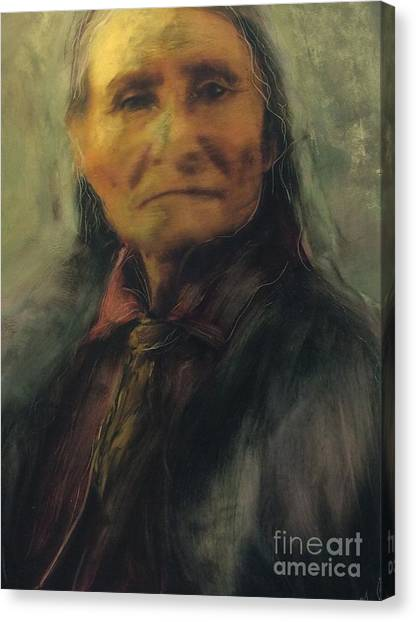 Honoring Geronimo Canvas Print