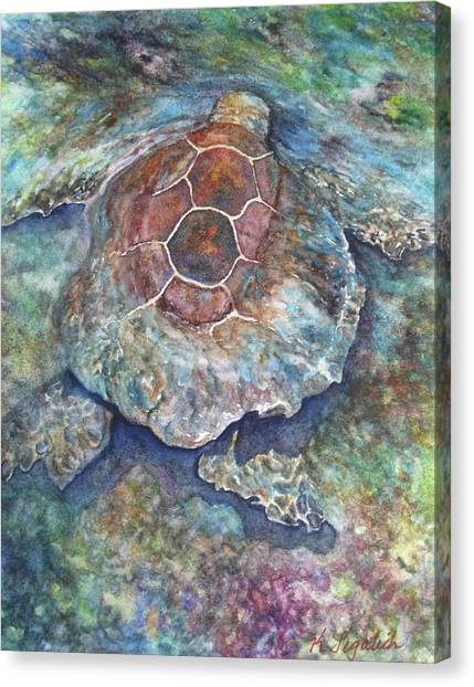 Honu Ill Canvas Print