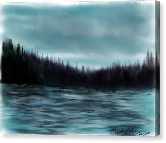 Hood Canal Puget Sound Canvas Print