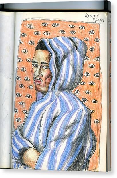 Hoodie Canvas Print - Hoodie by Darryl Gouch