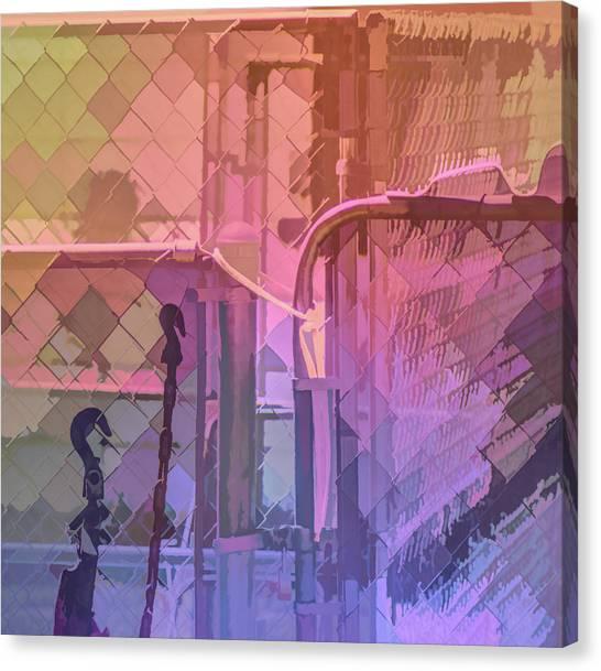 Hooks Chains Loops Locks Canvas Print