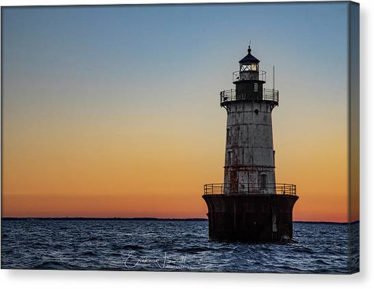 Hoopers Island Sunset Canvas Print