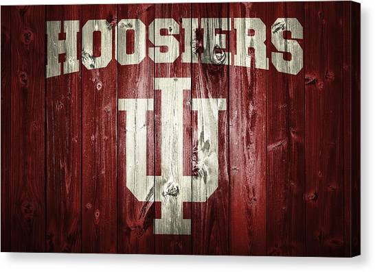 Hoosiers Barn Door Canvas Print