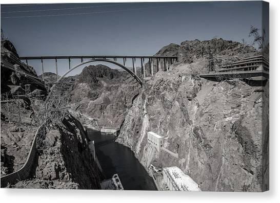 Hoover Dam Bridge Canvas Print