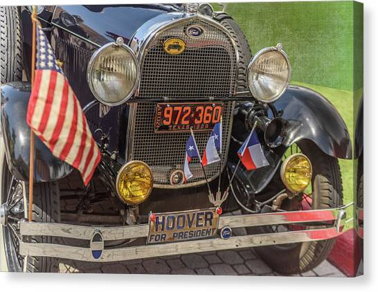 Hoover Era Ford Canvas Print