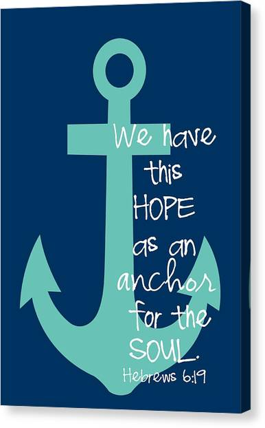 Delta Gamma Canvas Print - Hope Customizable Background by Nancy Ingersoll