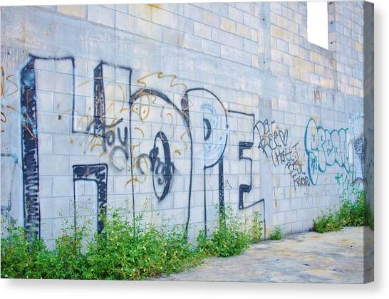 Hope For Paradise Canvas Print