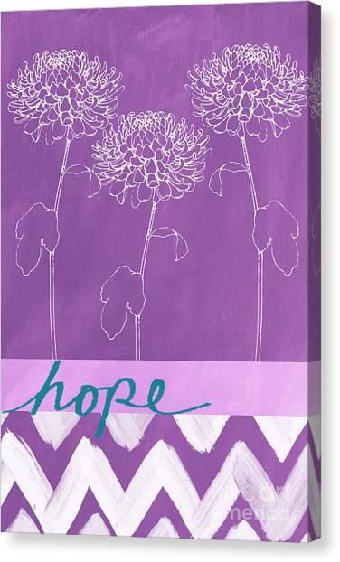 Cute Canvas Print - Hope by Linda Woods