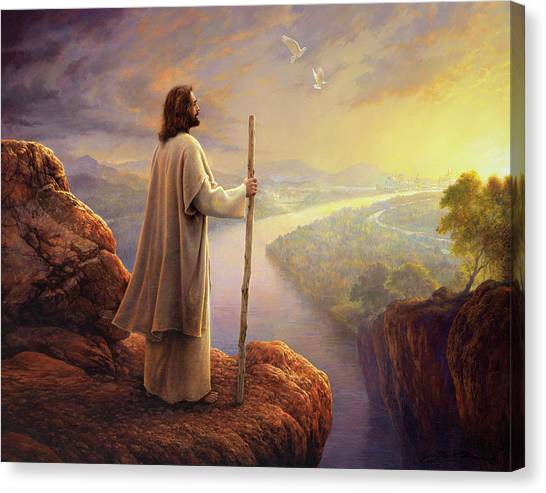 Dove Canvas Print - Hope On The Horizon by Greg Olsen