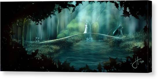 Hope To The Dunedain Canvas Print
