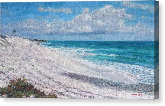 Hope Town Beach Canvas Print