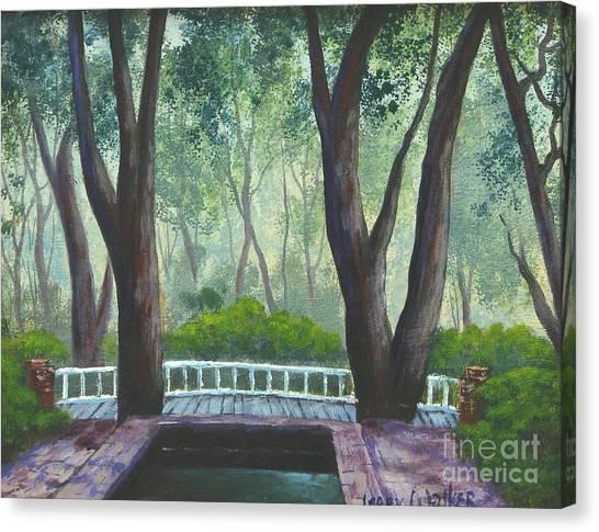 Hopeland Gardens Pool Canvas Print