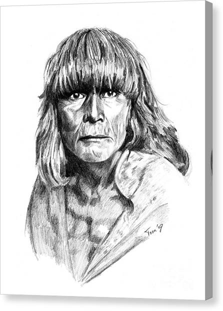 Hopi Man 1921 Canvas Print