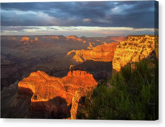 Hopi Point Sunset 1 Canvas Print