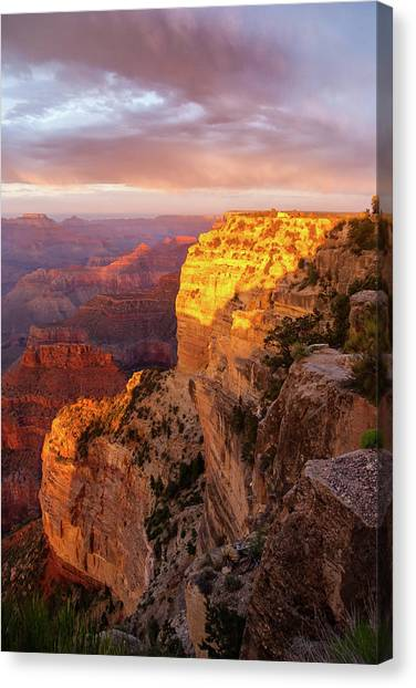 Hopi Point Sunset 2 Canvas Print