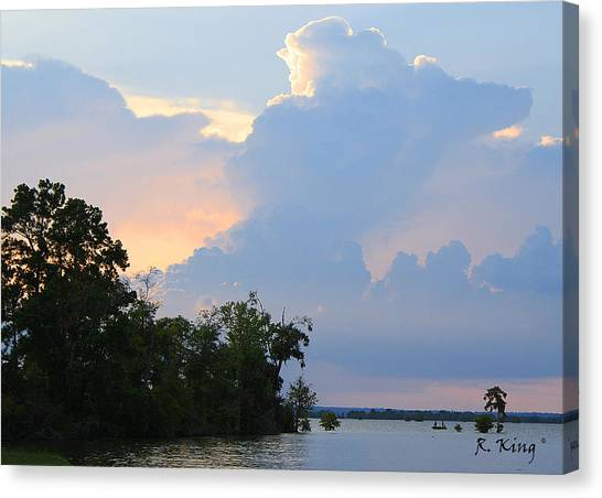 Hoping For An Evening Shower Canvas Print