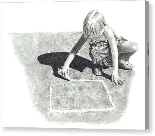 Hopscotch Canvas Print by Joyce Geleynse