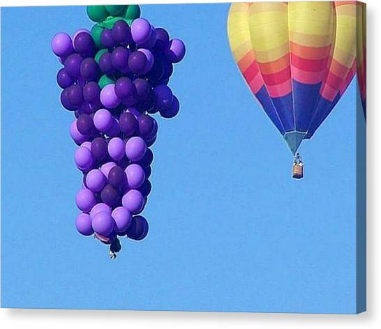 Hot Air Balloons Canvas Print - Hor Air Balloons by James Knecht