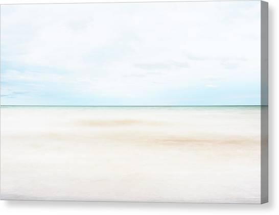 Blending Canvas Print - Horizon #9 by Scott Norris